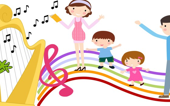 豎琴親子課程 Parent-Child Harp Course